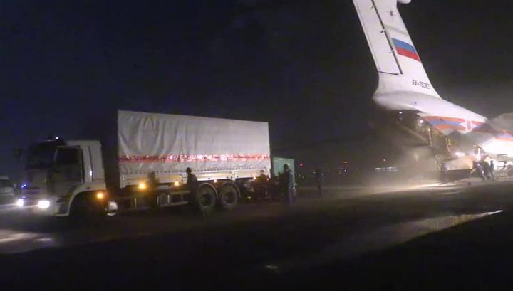 Россия отправила гуманитарную помощь в Эквадор, пострадавший от землетрясения