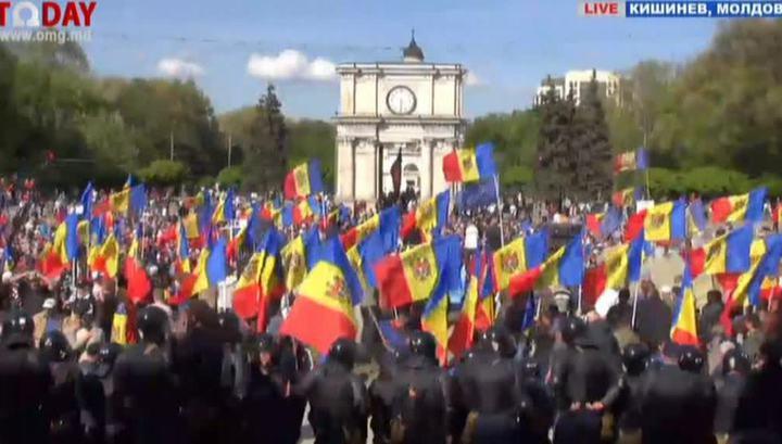 Протесты в Кишиневе: молдавской властью недовольны все