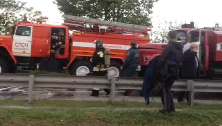 В Ростове-на-Дону в многоэтажке произошел пожар, пострадали 4 человека