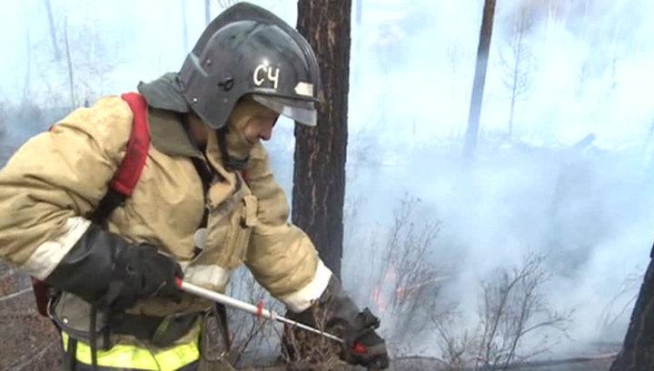 Лесные пожары в Сибири: МЧС задействует авиацию и спецподразделения