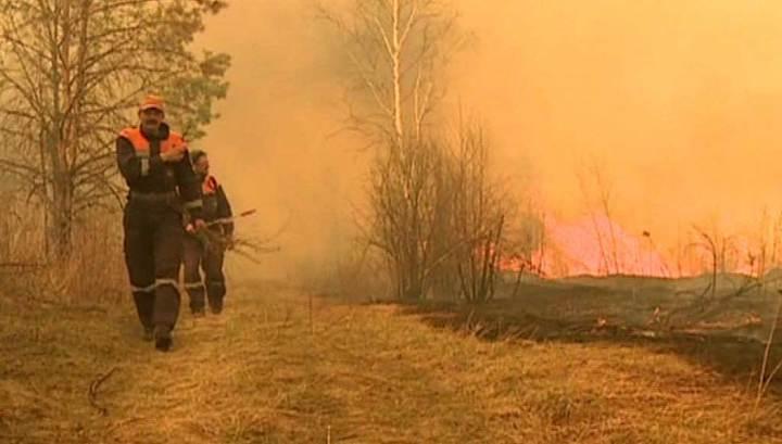 На Дальнем Востоке продолжают бушевать лесные пожары