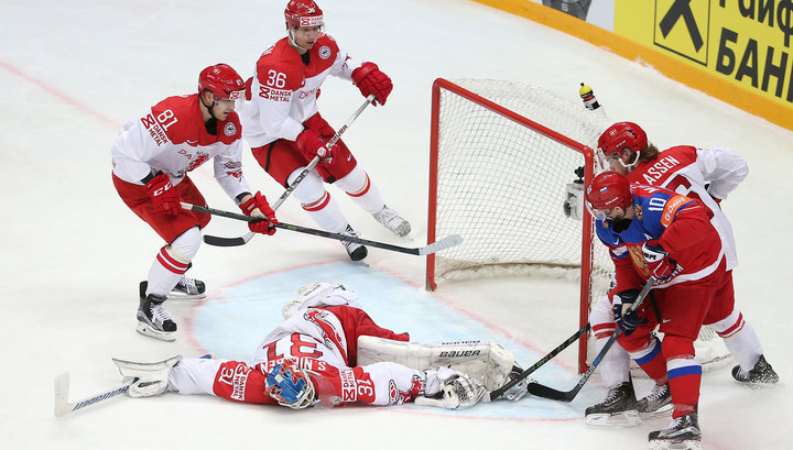По какому каналу сегодня будет хоккей россия дания