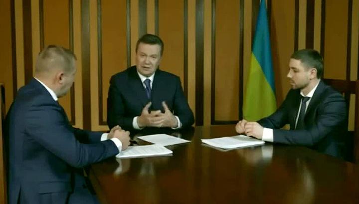 Виктор Янукович: за расстрелом майдановцев стояли нынешние руководители Украины