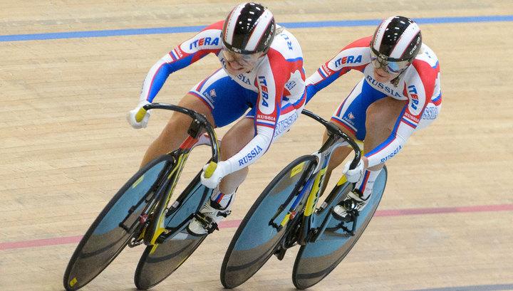 Войнова и Шмелева выиграли серебро на треке Манчестера
