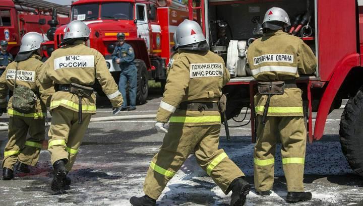 Вести.Ru  В центре Москвы горит торговый центр 26258507b3f