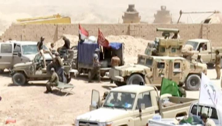 В Ираке началась операция по освобождению Эль-Фаллуджи