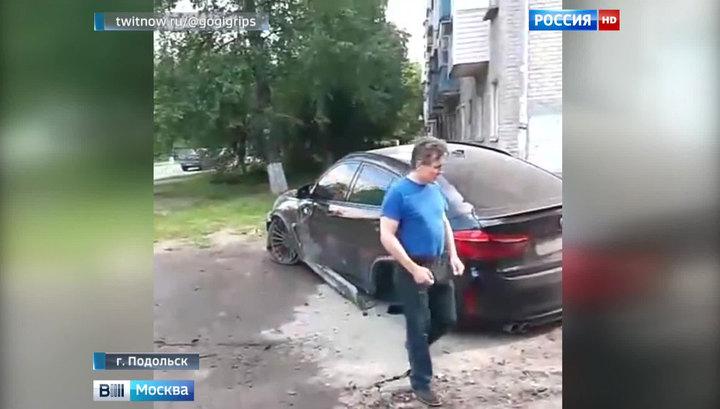 За таран остановки с людьми на BMW X6 сыну экс-министра грозит два года