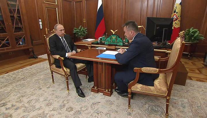 Губернатор Приморья пообещал Путину открыть филиалы Эрмитажа и Вагановской Академии