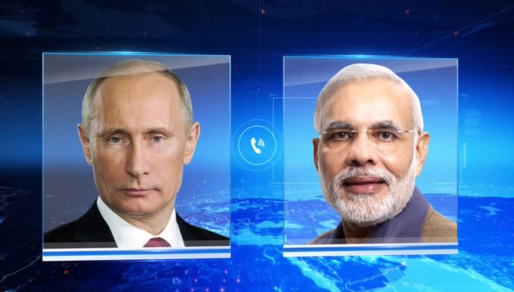 Путин обсудил с премьером Индии борьбу с терроризмом и мировые проблемы
