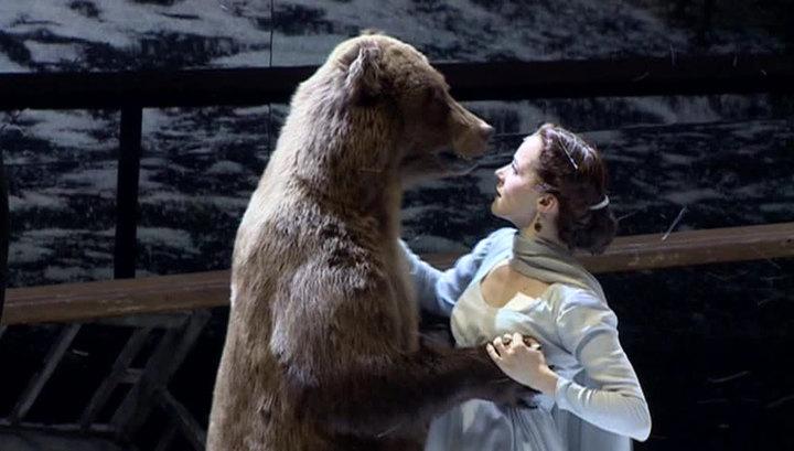 Гастроли Театра имени Вахтангова: танец Татьяны с медведем ошеломил немецкую публику