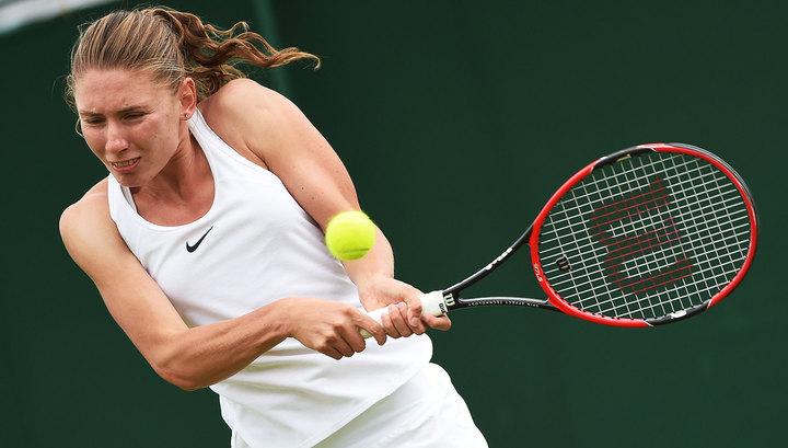 Александрова сыграет с Павлюченковой в 1/4 финала турнира в Линце