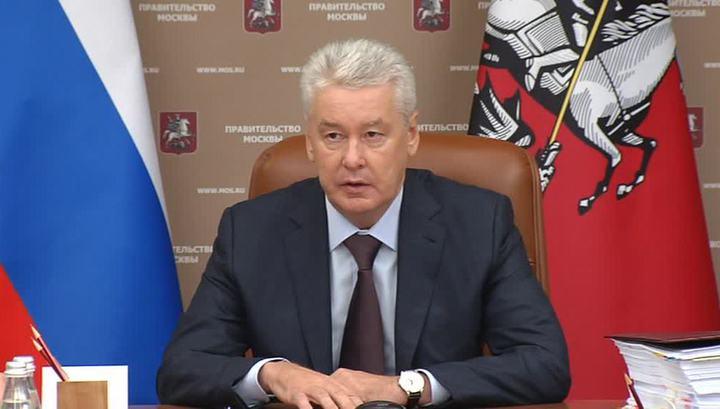 Собянин стал первым зарегистрированным кандидатом в мэры Москвы