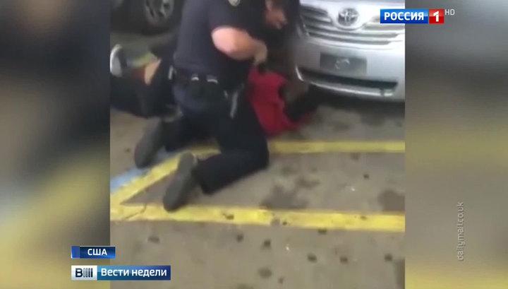 Полицейский беспредел: в США отстреливают чернокожих