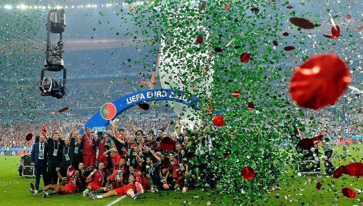 Евро-2016: Португалия впервые в истории выиграла крупный турнир