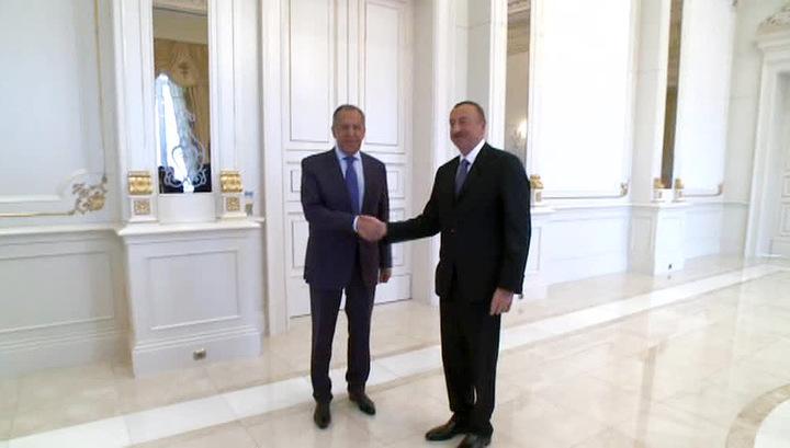 Сергей Лавров и Ильхам Алиев отметили положительную динамику в переговорах по Нагорному Карабаху
