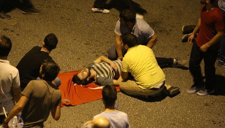 В попытке переворота в Турции подозревают США