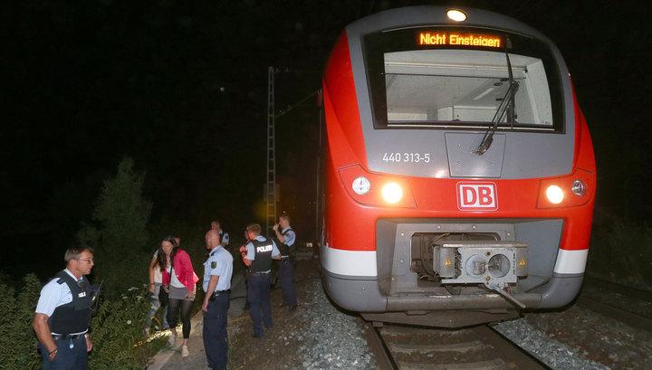 Бойня в немецком поезде: нападавший оказался мигрантом