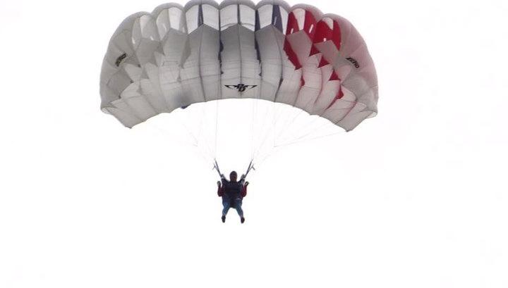 Закрутились стропы: парашютист упал с 800 метров в Адыгее