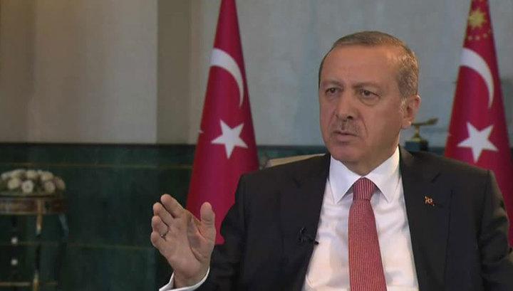Эрдоган: целью провокации на учениях НАТО была Турция
