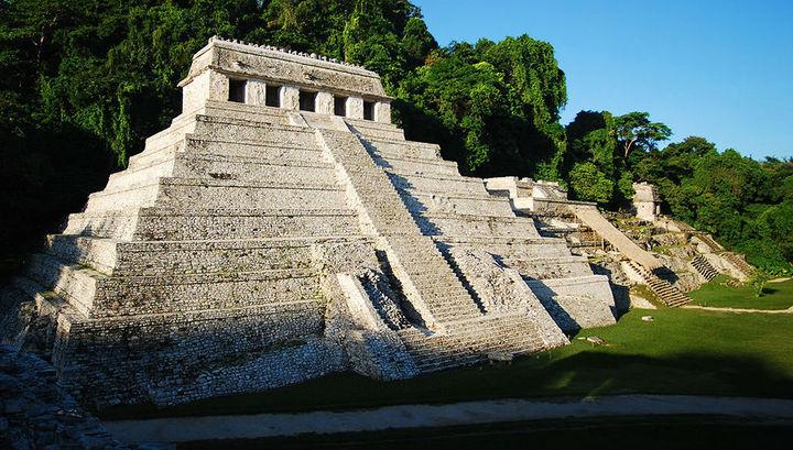 Храм надписей, под которым обнаружена древняя система каналов.