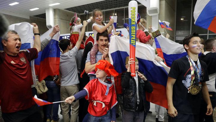 Российские олимпийцы прилетели в Рио-де-Жанейро