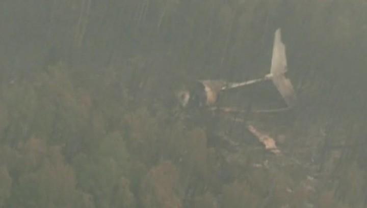 Отчет МАК: причиной крушения Ил-76, принадлежавшего МЧС, стала плохая видимость