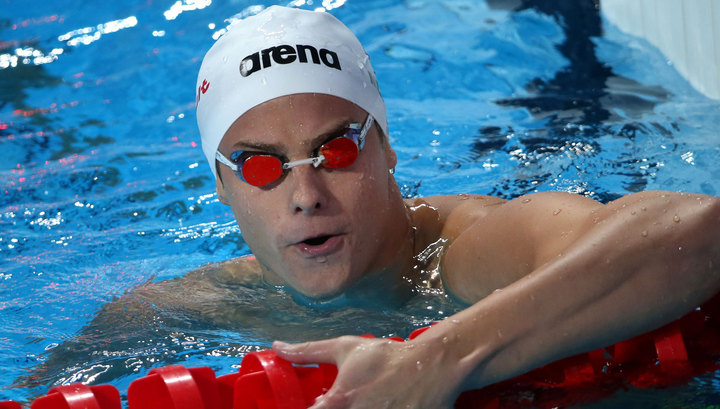 Морозов повторил свой мировой рекорд на этапе Кубка мира по плаванию