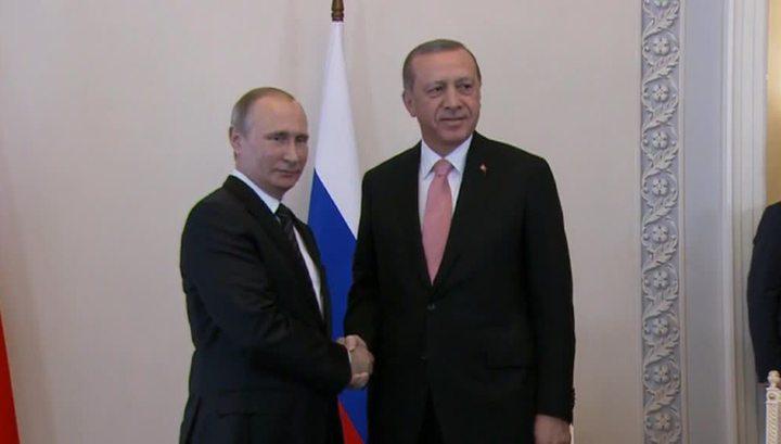 Путин - Эрдогану: российско-турецкие отношения практически восстановлены