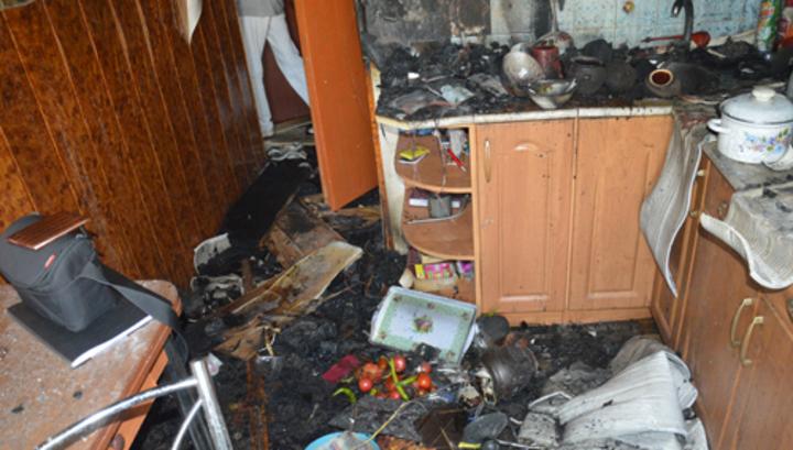 В Алтайском крае при пожаре в квартире погибли три человека