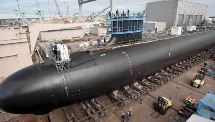 """ВМС США получили новейшую атомную субмарину """"Иллинойс"""""""