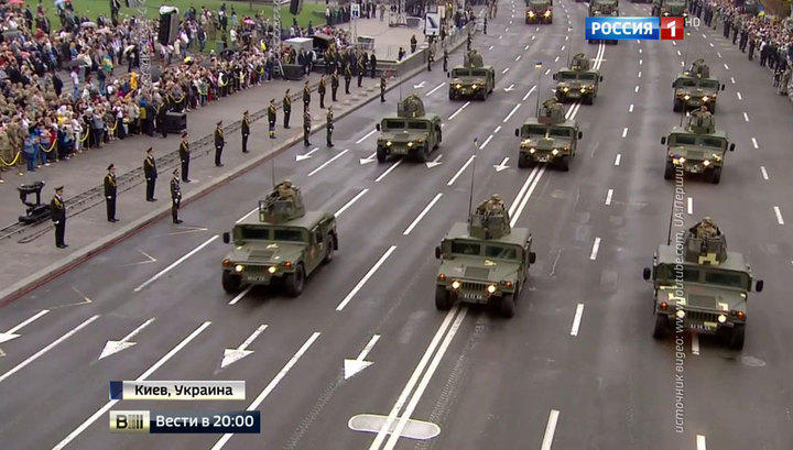 """Киев похвастался 130 бэушными """"Хаммерами"""""""