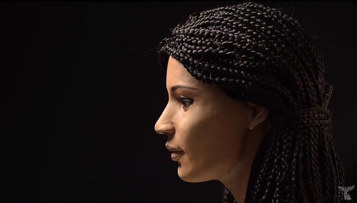 "Реконструкция внешности древнеегипетской мумии ""Меритамун"". Кадр из видео The University of Melbourne / Youtube"