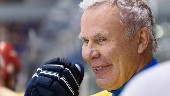 Вячеслав Фетисов хочет провести хоккейный матч на Северном полюсе
