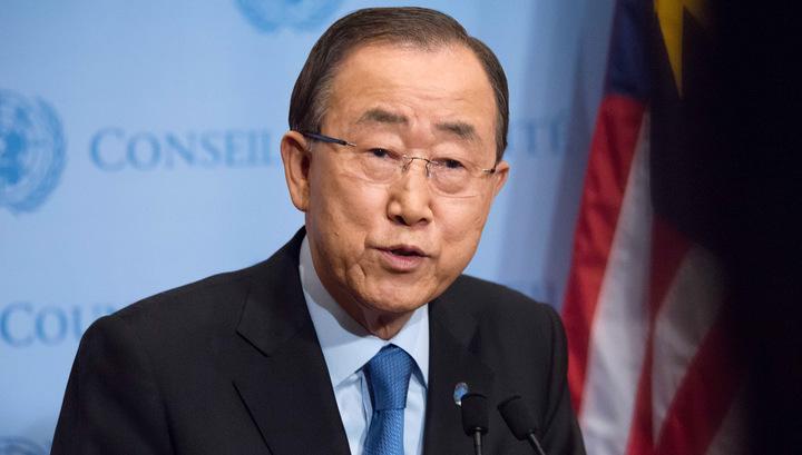 Пан Ги Мун в очередной раз осудил Северную Корею