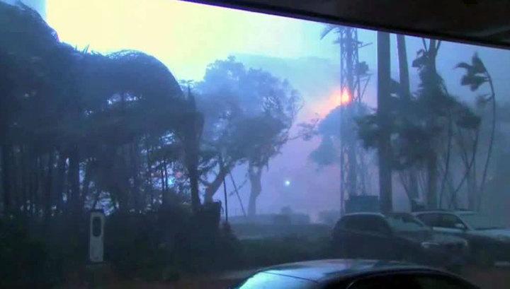"""На побережье Китая обрушился супертайфун """"Меранти"""""""
