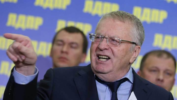 Выборы: Жириновский первым подал документы в ЦИК