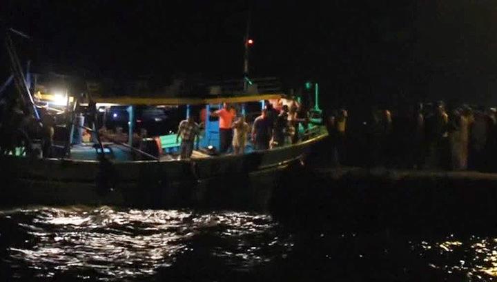 Количество жертв крушения судна с нелегалами достигло 43 человек