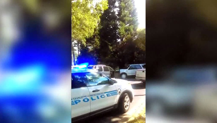 Трагедия в Шарлотте: супруга убитого чернокожего показала видео с телефона