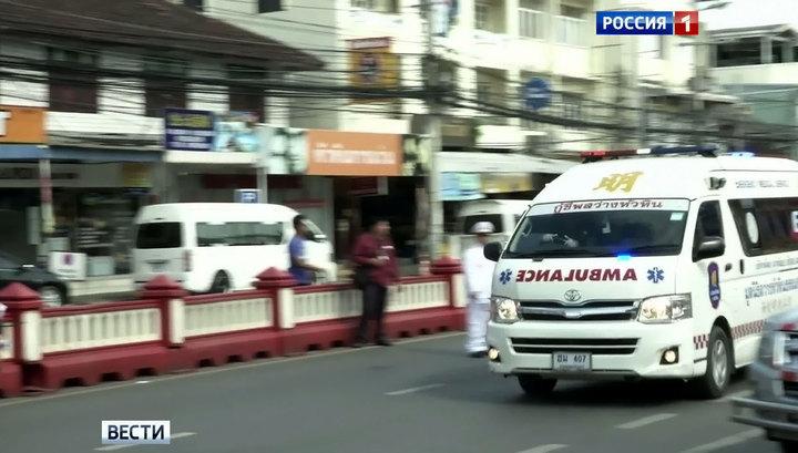 В Таиланде мотоциклист из России врезался в толпу туристов