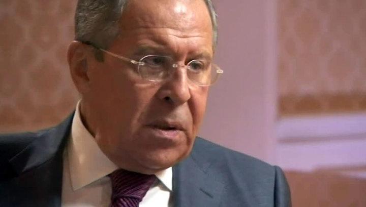 Лавров: возможные санкции за Сирию - аналог украинским