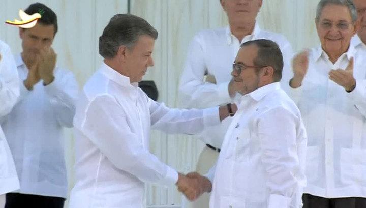Президент Колумбии: режим прекращения огня остается в силе