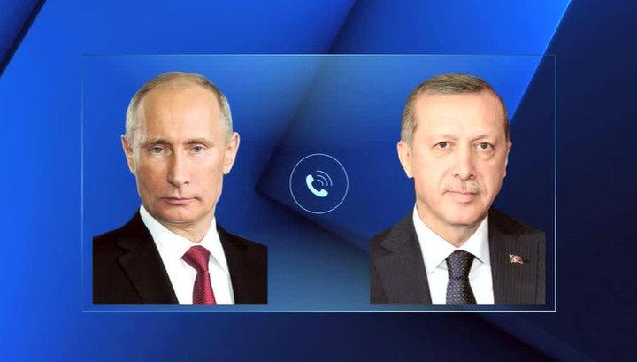 Путин и Эрдоган заявили о готовности содействовать преодолению кризиса в Ливии