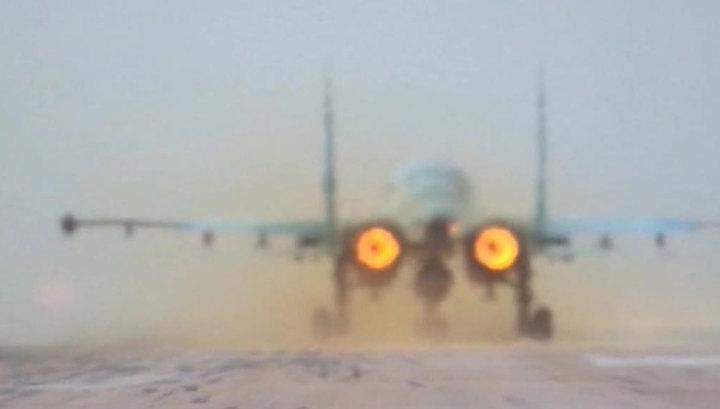 За неделю ВКС России уничтожили 1300 террористических объектов в Сирии