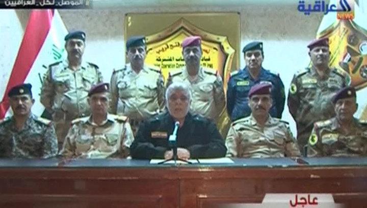 Международная коалиция начала наземную операцию по освобождению Мосула