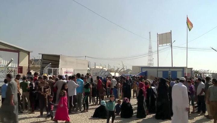 Военные и формирования курдов освобождают иракский Мосул