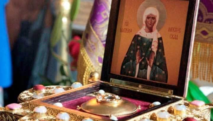 В столице ограбили храм Матроны Московской