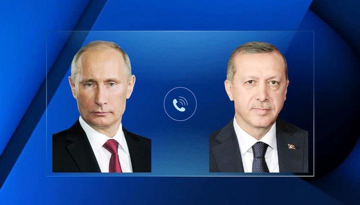 Путин и Эрдоган обсудили операцию в районе Африна
