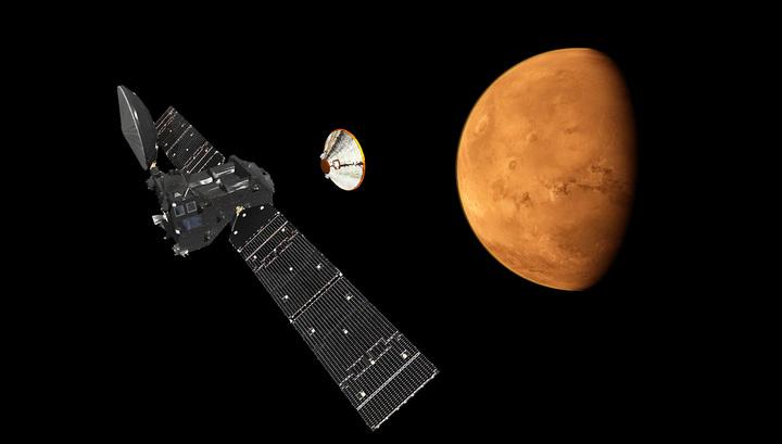 Модуль Schiaparelli коснулся Марса: сигнал с него потерян