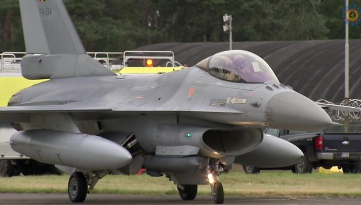 В Бельгии произошел взрыв на военной базе: уничтожен F16