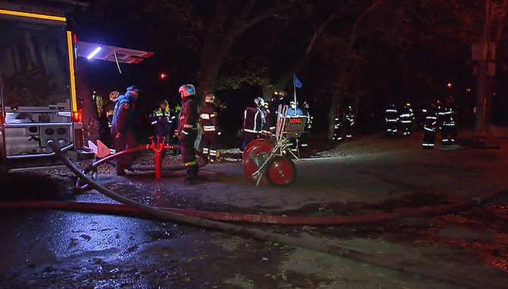 Пожар в жилом доме Екатеринбурга потушен